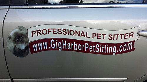 Pet Sitter Gig Harbor